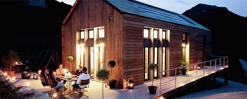 La maison en bois bbc pour les auto constructeurs for Maison en bois bbc